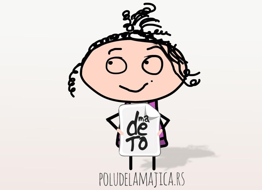 Majice sa smesnim natpisima - Ma De To - poludelamajica