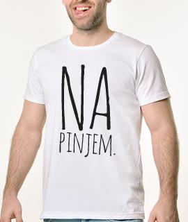 Majice sa smesnim natpisima - Napinjem - Proizvod