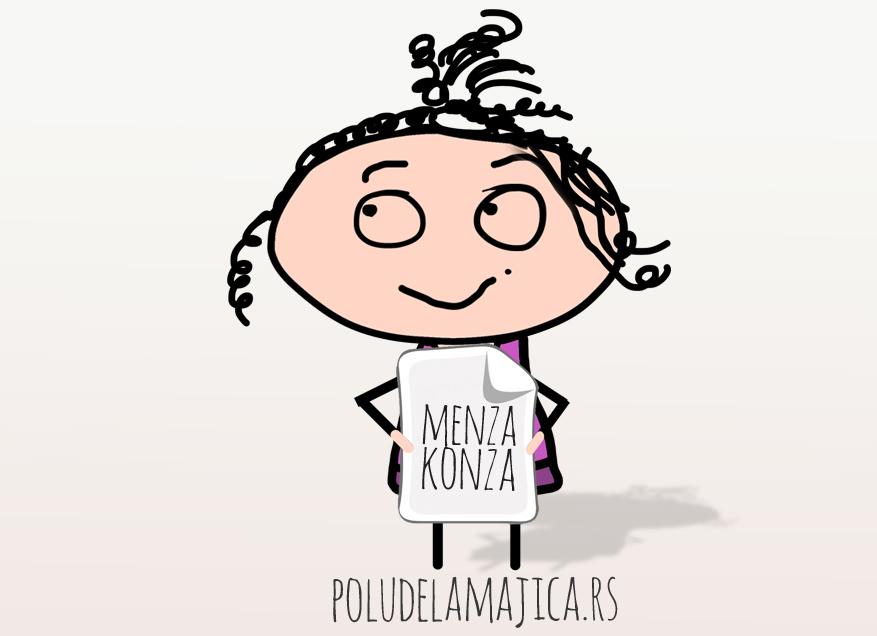 Menza Konza - poludelamajica