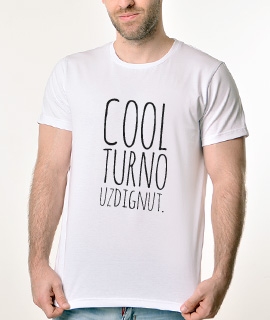 Muska Rules Majica sa natpisom - Coolturno Uzdignut - Proizvod