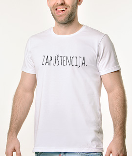 Muska Rules Majica sa natpisom - Zapustencija - Proizvod