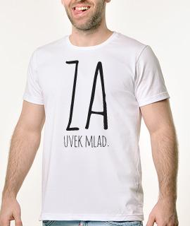 Muska Rules Majica sa natpisom - Zauvek Mlad - Proizvod