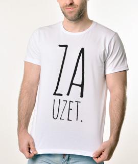 Muska Rules Majica sa natpisom - Zauzet - Proizvod