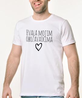 Muska Rules majica sa natpisom Hvala Mojim Obozavaocima - Proizvod