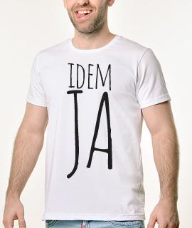 Muska Rules majica sa natpisom - Idem Ja - Proizvod
