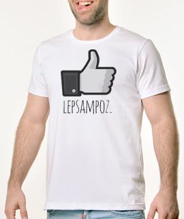 Muska Rules majica sa natpisom Lep Sam Poz - Proizvod