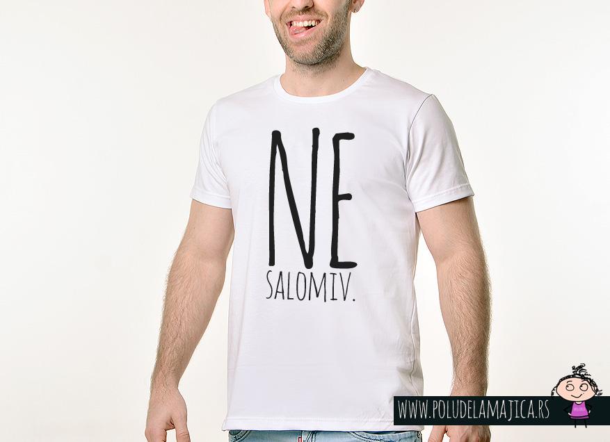 Muska Rules majica sa natpisom - Nesalomiv - poludelamajica