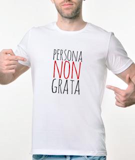 Muska Rules majica sa natpisom Persona Non Grata - Proizvod