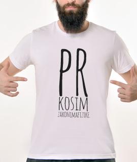 Muska Rules majica sa natpisom Prkosim zakonima fizike - Proizvod