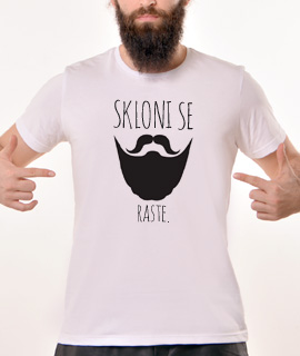 Muska Rules majica sa natpisom Skloni Se Raste - Proizvod