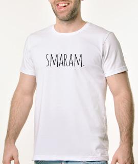 Muska Rules majica sa natpisom Smaram - Proizvod