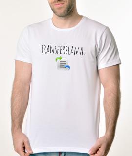 Muska Rules majica sa natpisom Transfer Blama - Proizvod