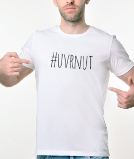 Muska Rules majica sa natpisom - Uvrnut - Proizvod