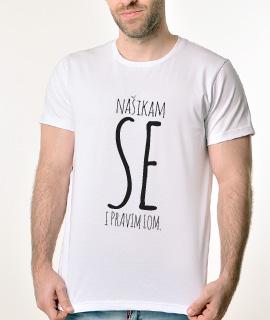 Rules muska majica sa natpisom Nasikam Se I Pravim Lom - Proizvod