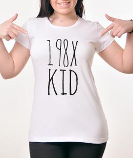 Zenska Rules majica sa natpisom 198x kid - Proizvod