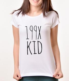Zenska Rules majica sa natpisom 199x kid - Proizvod