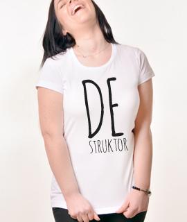 Zenska Rules majica sa natpisom Destruktor - Proizvod