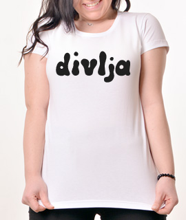 Zenska Rules majica sa natpisom Divlja - Proizvod