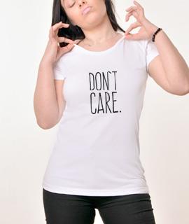 Zenska Rules majica sa natpisom Dont Care - Proizvod
