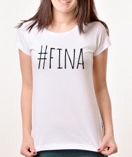 Zenska Rules majica sa natpisom Fina - Proizvod