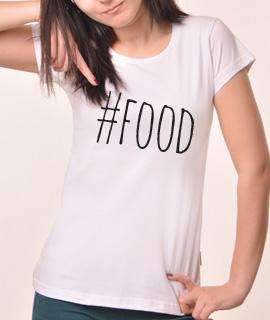 Zenska Rules majica sa natpisom Food - Proizvod