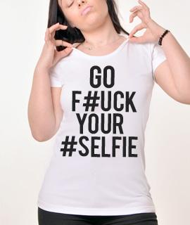 Zenska Rules majica sa natpisom Go Fck Yr Slf - Proizvod