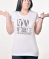 Zenska Rules majica sa natpisom Izvini Ne Cujem Te Zbog Nezainteresovanosti-  Proizvod