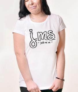 Zenska Rules majica sa natpisom JMS jede mi se - Proizvod