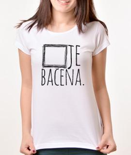 Zenska Rules majica sa natpisom Kocka Je Bacena - Proizvod