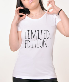 Zenska Rules majica sa natpisom Limited Edition - Proizvod