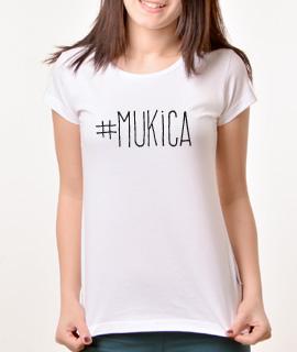 Zenska Rules majica sa natpisom Mukica - Proizvod