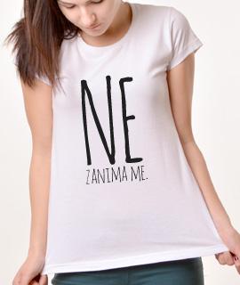 Zenska Rules majica sa natpisom Ne zanima me - Proizvod