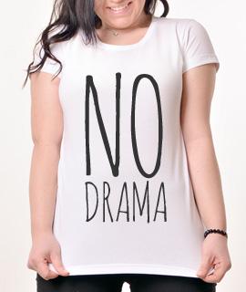 Zenska Rules majica sa natpisom No Drama - Proizvod