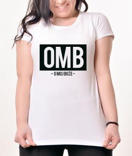 Zenska Rules majica sa natpisom OMB - Proizvod