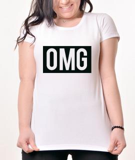 Zenska Rules majica sa natpisom OMG - Proizvod