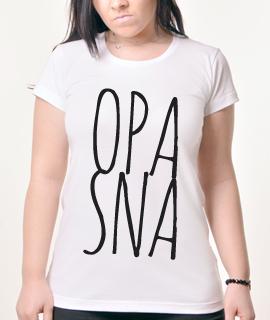 Zenska Rules majica sa natpisom Opasna - Proizvod