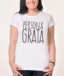 Zenska Rules majica sa natpisom Persona Grata - Proizvod