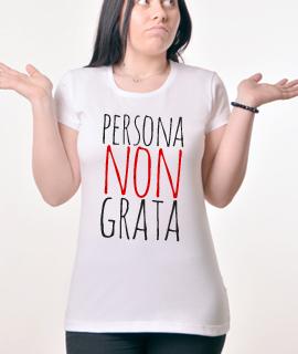 Zenska Rules majica sa natpisom Persona Non Grata - Proizvod