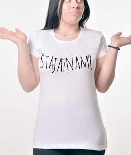 Zenska Rules majica sa natpisom Sta Ja Znam - Proizvod