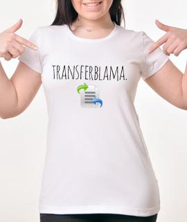 Zenska Rules majica sa natpisom Transfer Blama - Proizvod