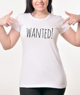 Zenska Rules majica sa natpisom Wanted - Proizvod