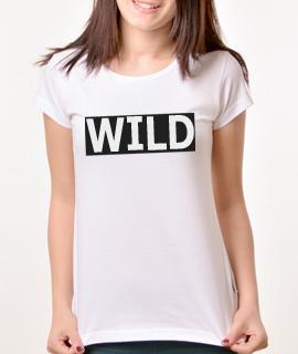 Zenska Rules majica sa natpisom Wild - Proizvod