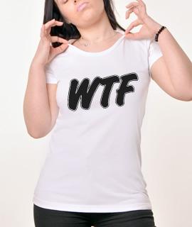 Zenska Rules majica sa natpisom Wtfl - Proizvod