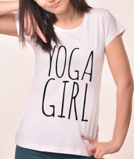 Zenska Rules majica sa natpisom Yoga Girl - Proizvod