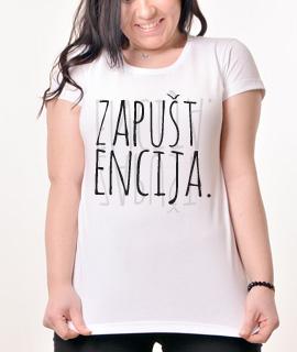 Zenska Rules majica sa natpisom Zapustencija - Proizvod