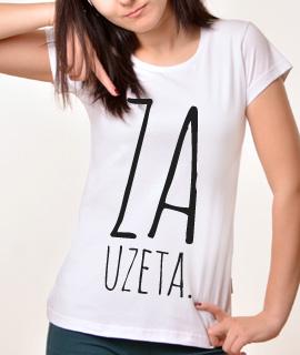 Zenska Rules majica sa natpisom Zauzeta - Proizvod