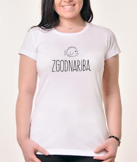 Zenska Rules majica sa natpisom Zgodna Riba - Proizvod