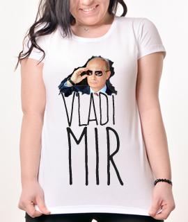 Zenska Rules majica sa natpisom slikom Vladimir Putin -  Proizvod