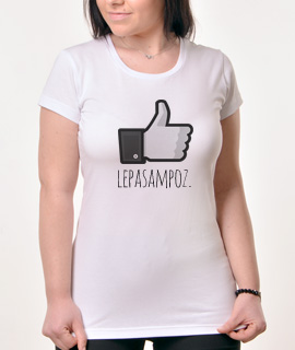 Zenska majica sa natpisom Lepa Sam Poz - Proizvod