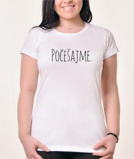 Zenska majica sa natpisom Pocesaj me - Proizvod